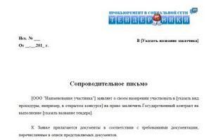 образец письма о передаче документов